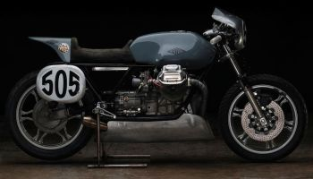 Moto Guzzi Cafe Racer Le Mans I by Revival Cycles