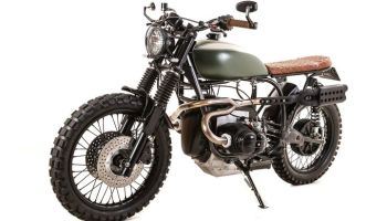 BMW R100 Scrambler by Kevil's Speed Shop
