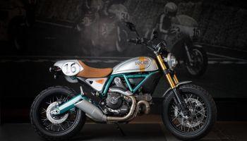 Ducati Scrambler by Paul Smart
