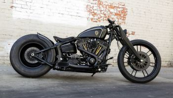 Harley Davidson Softail Rocker Bobber by Rough Crafts