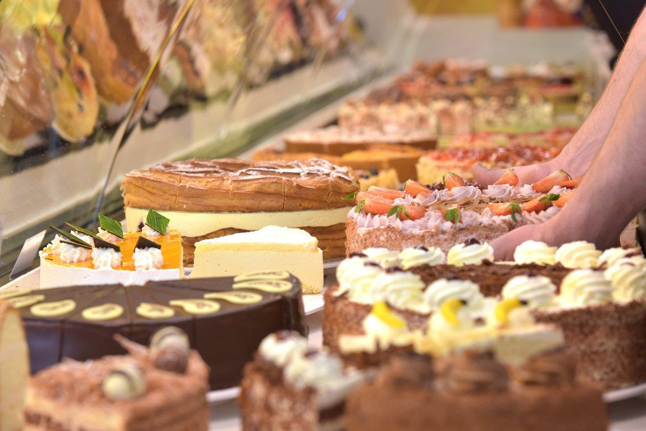 Kuchen und Torten  Cafe Schmidt