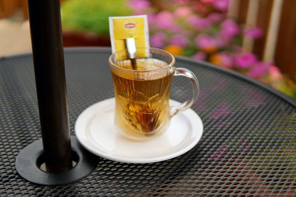 Cafe Selam Spiced Tea Patio and Garden