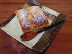 りんごのケーキ