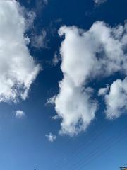 10月でも夏の雲