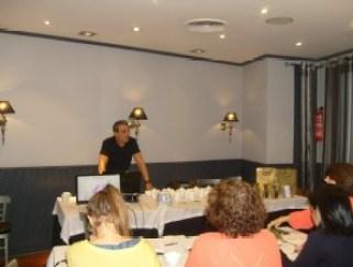 Fernando Padin en una de sus Master Class