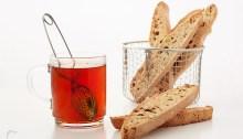 Biscotti de pistacho y rooibos frutos secos