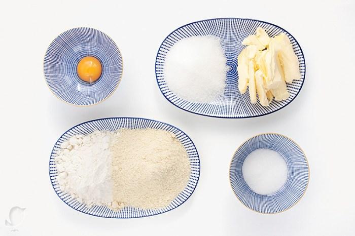 Vanillekipferl: ingredientes