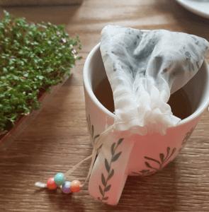 filtros reutilizables para té