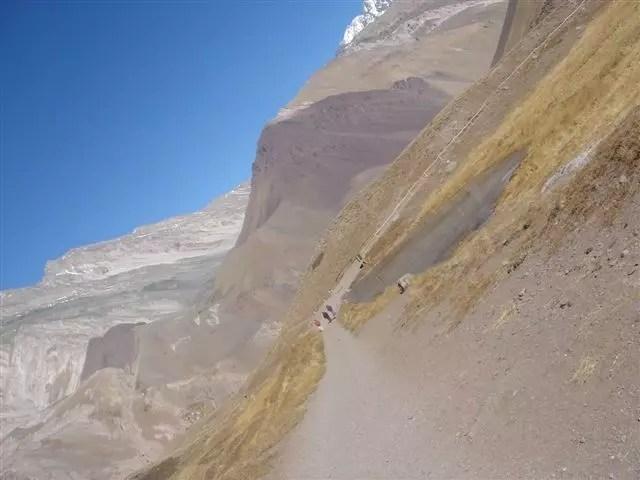 Caminhada para o Aconcagua