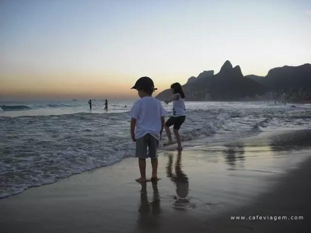 Rio com Crianças