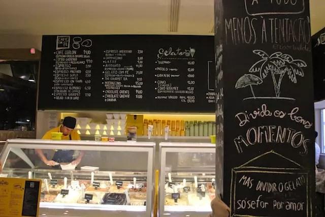 Momo, a sorveteria do Leblon