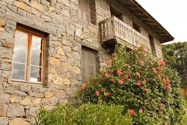 A casa de pedra do Nonna Ludia