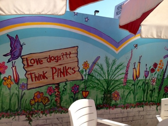 Pink's Hot Dog Los Angeles