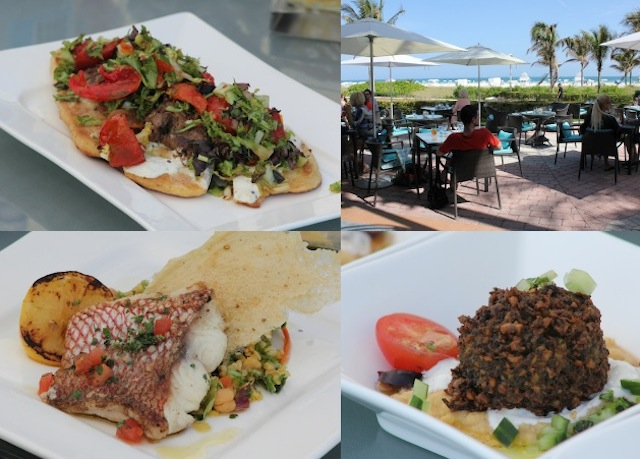 DiLido Beach Club, um dos restaurantes do hotel com localização privilegiada