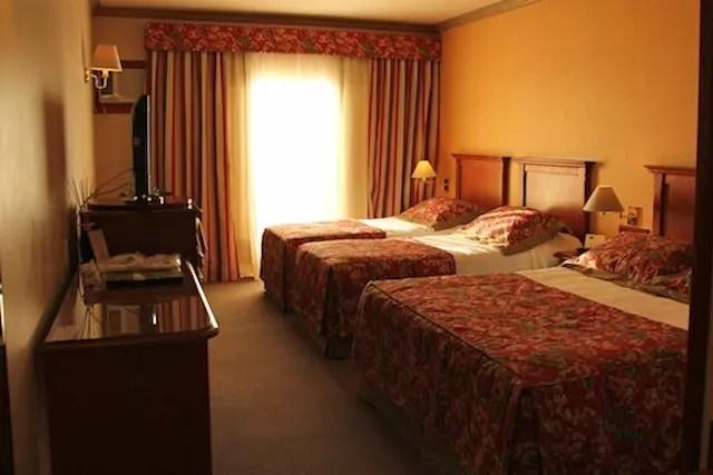 nosso quarto família no hotel Alpestre!