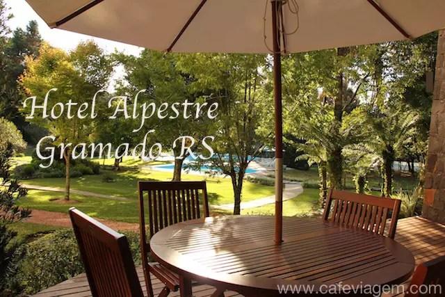 Hotel Alpestre jardim