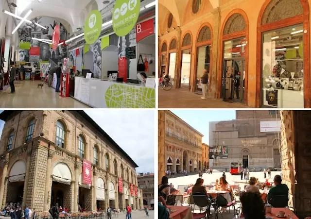 Bologna Welcome - centro turístico de informações: o ponto de partida!