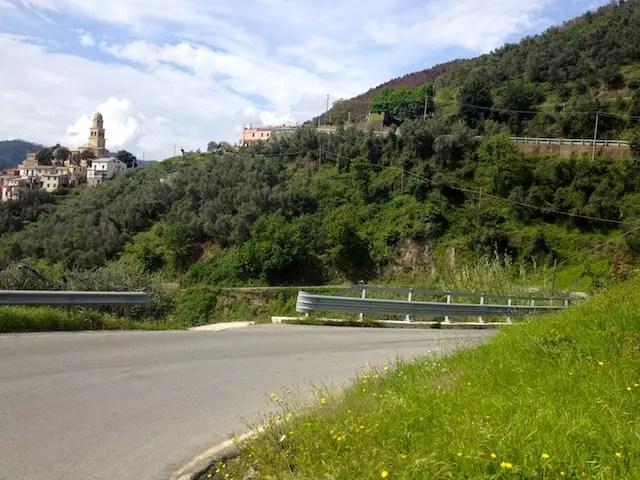 estrada para Monterosso