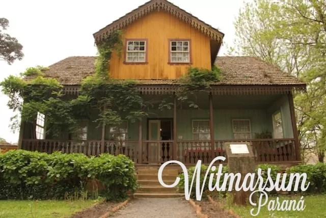 O Museu Histórico de Witmarsum - colonia alemã menonita a 50 km de Curitiba