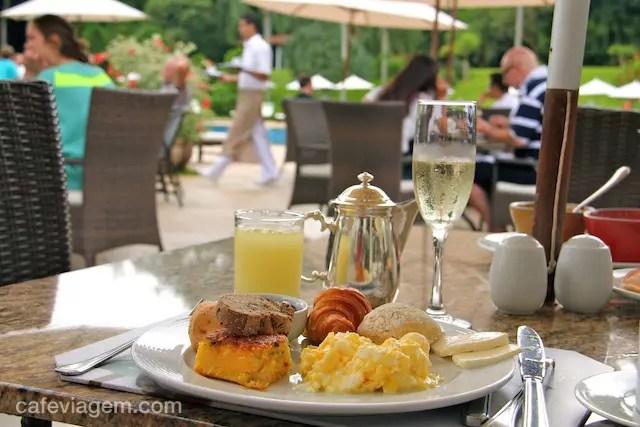 O café com a natureza no Hotel das Cataratas!