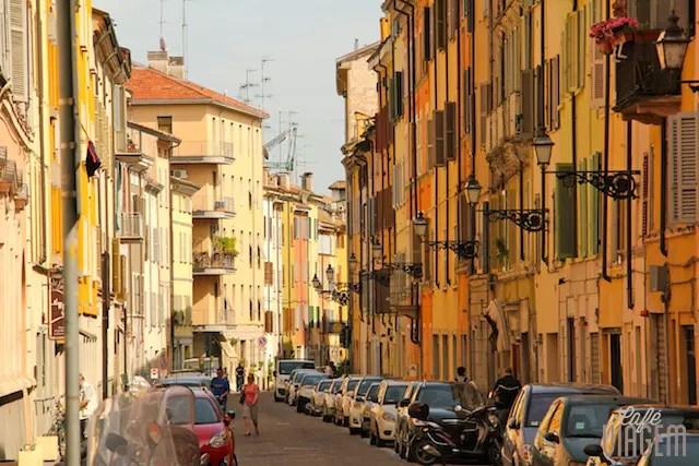 Parma, não como não se apaixonar pelo colorido de Parma