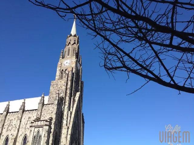 A Catedral no inverno