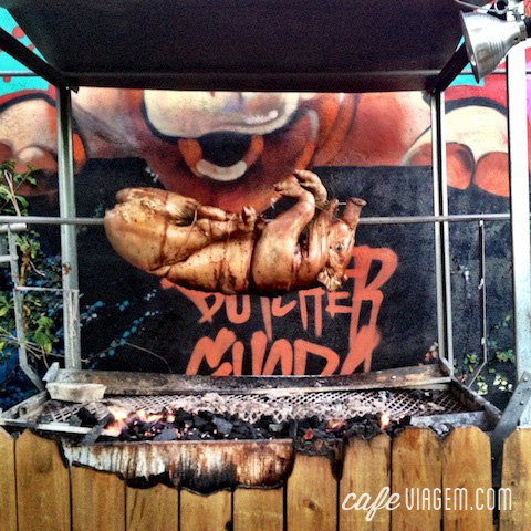 Decoração de açougue no divertido The Butchers Shop