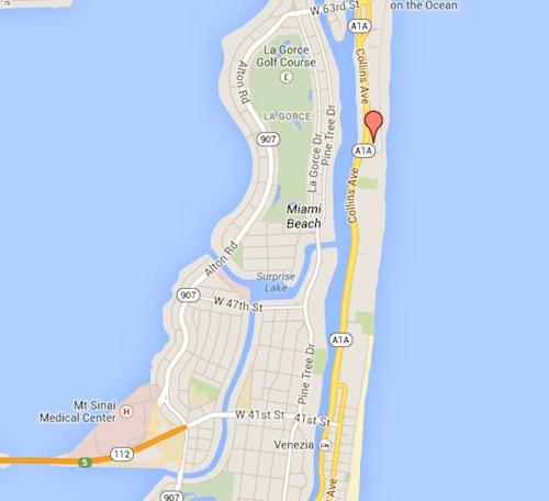 No meio: entre Bal Harbour e South Beach!