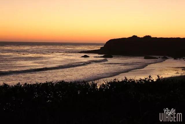 Fim de tarde na costa do Pacífico: fantástico!