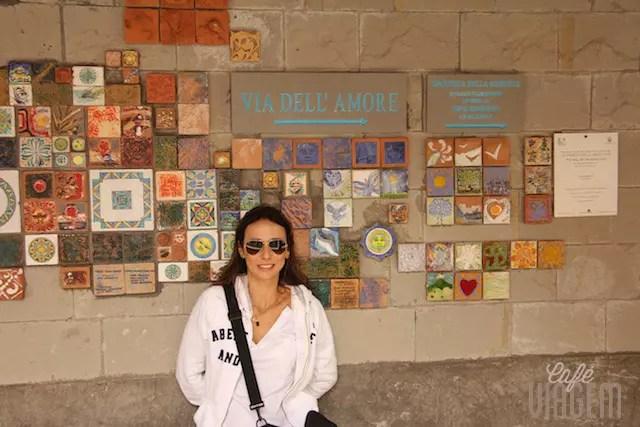 O percurso para fazer caminhando e suspirando: Riomaggiore a Manarola pela Via dell'Amore