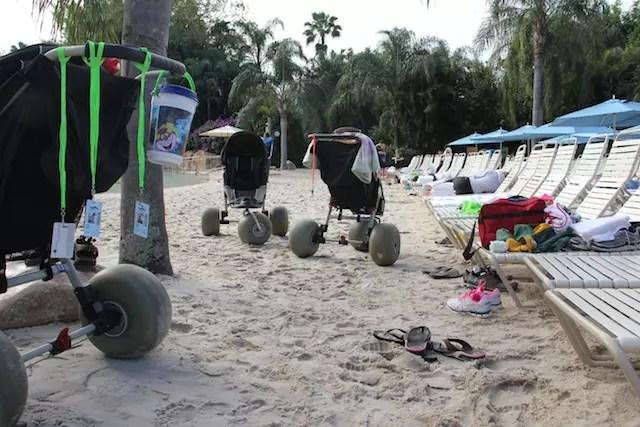 Para quem tem crianças pequenas, carrinhos de areia especiais