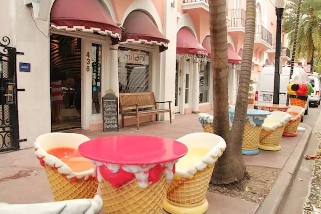 E o gelato incrível da Milani Gelateria