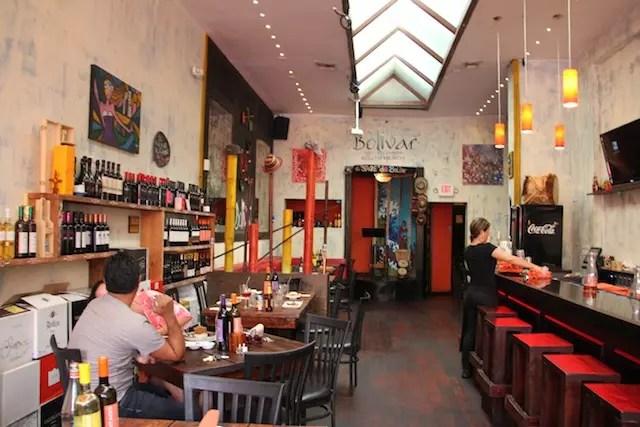 o restaurant Bolivar