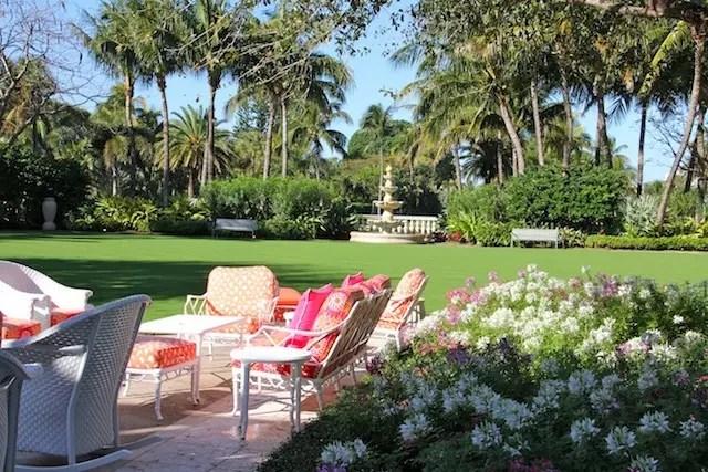 O jardim para se jogar… Um fim de tarde por lá é espetacular