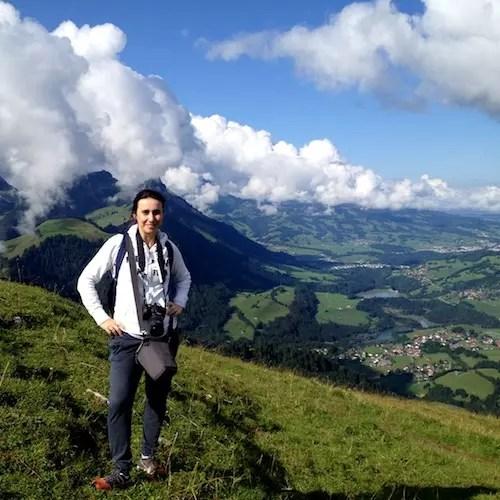 Nos pré Alpes de Friburgo em Charmey