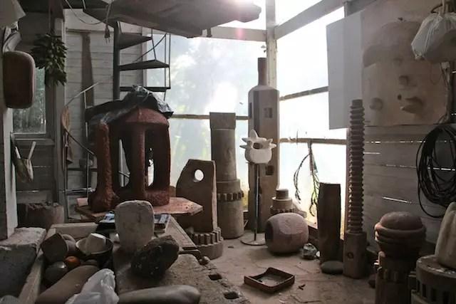 obras inacabadas e projetos em erupção...