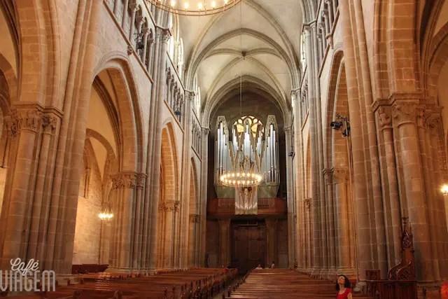 Catedral vista por dentro