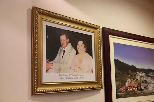 o casal italiano de fundadores