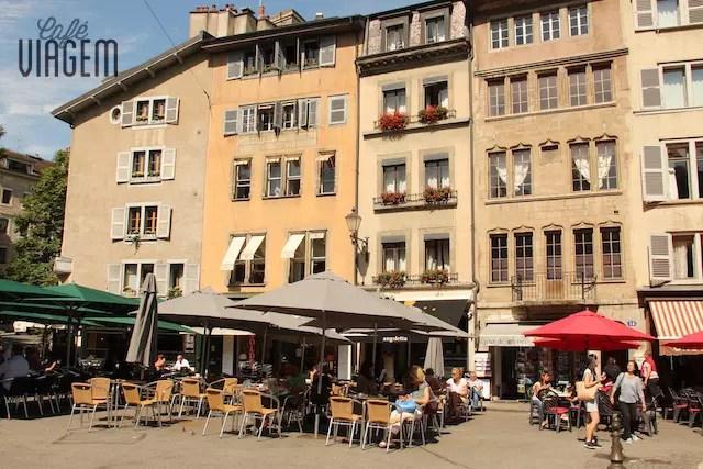 O charme dos restaurantes e cafés na parte histórica da cidade:
