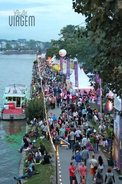 Museumsuferfest em Frankfurt