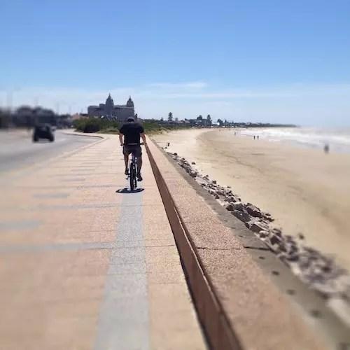 passeio de bike pela manhã !