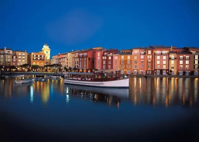 Foto divulgação. Loews Portofino - o hotel que imita a vila mediterranea italiana