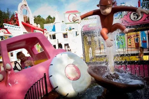 Foto Divulgação Universal Parks - a área kids da Universal Studios