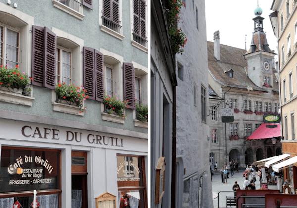 A dica de restaurante no caminho é o Cafe Du Grutli - super bem recomendado!