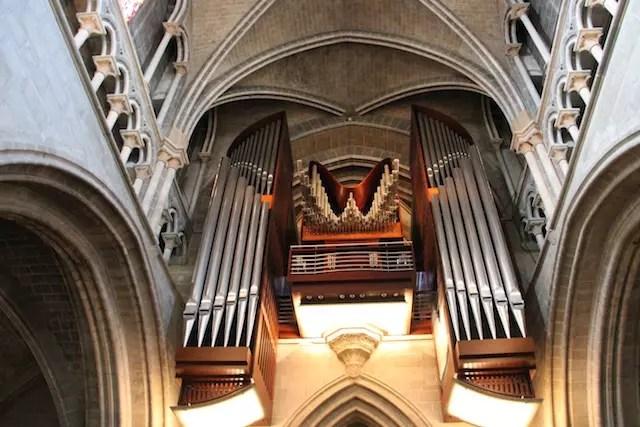 O famoso órgão da Catedral