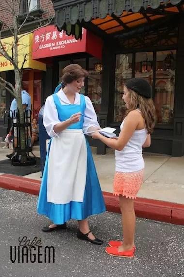 A minha bela e a Bela da Disney