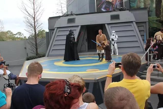 O divertido treino com os Jedis