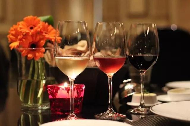o ambiente romântico do restaurante