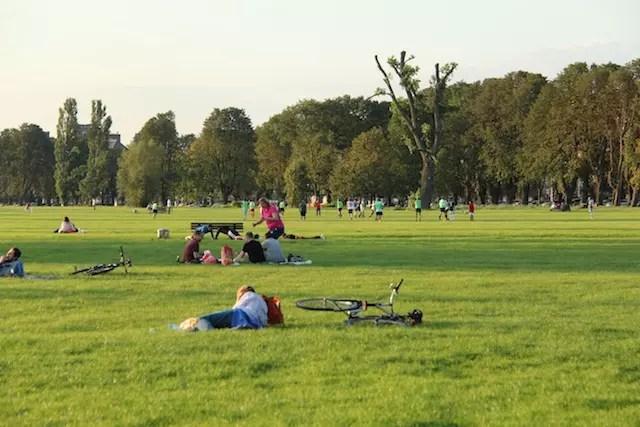 Dusseldorf fim de tarde