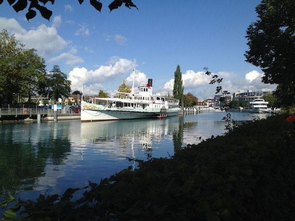 Tour boat Lake Thun
